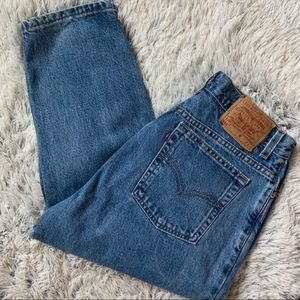 Vintage Levi's 550 Mom Style High Rise Jeans